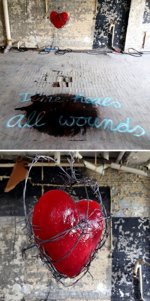 TIME HEALS ALL WOUNDS - Installations, Berlin, 2014